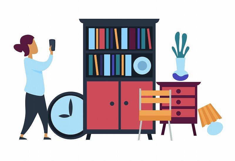 中古家具にはトコジラミ等が潜んでいる可能性もある。対応策