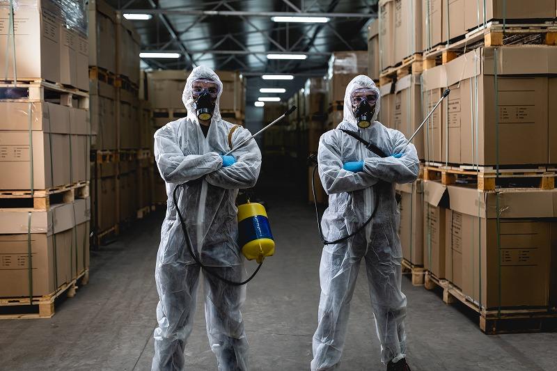 実は倉庫は害虫が発生しやすい場所です