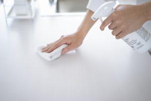 家庭内にコロナ患者がでた場合の除菌方法